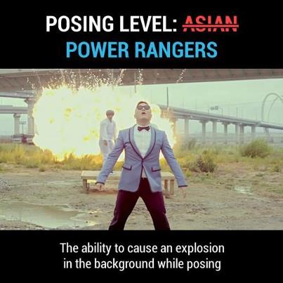posing-level-power-rangers-gangnam-style