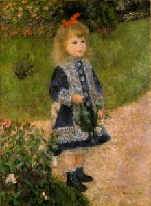 """Renoir's """"Girl with the Watering Can"""""""